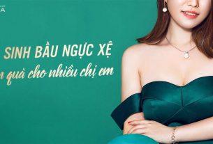 Nâng ngực chảy xệ - Món quà thanh xuân dành cho chị em - Nangngucxe.vn