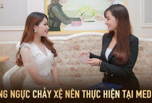 Nâng ngực chảy xệ nên thực hiện tại bệnh viện MEDIKA - Nangngucxe.vn