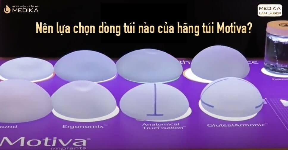 Túi Motiva dần thay thế các túi ngực khác trên thị trường từ Nangngucxe.vn